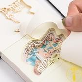 立體便簽紙3D便利貼紙雕模型手撕便簽紙本【雲木雜貨】