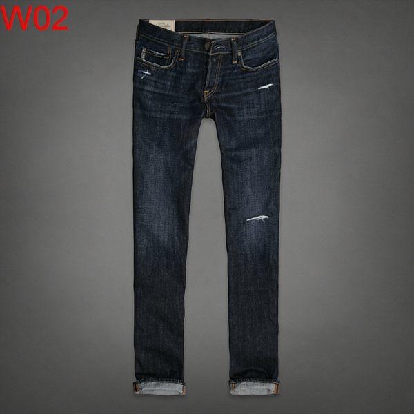 AF Abercrombie & Fitch A&F A & F 男 slim straight 單寧 牛仔褲 當季最新現貨 AF W02