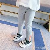 女童運動褲春裝2020新款兒童韓版洋氣春秋打底褲寶寶休閒束腳褲子 茱莉亞