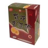 天仁菊花普洱茶包3g x40包/盒【愛買】