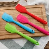 [拉拉百貨]奶油刮刀 烘焙工具 耐高溫硅膠蛋糕一體式刮刀 面包餅干 攪拌奶油抹刀
