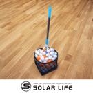 擠壓式桌球撿球器.乒乓球伸縮撈球網 容量220球掃球集球器
