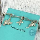 BRAND楓月 TIFFANY&CO. 蒂芬妮 愛心鳥 925 純銀 手鍊 配件 配飾 飾品 流行