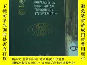 二手書博民逛書店IEEE CSEE罕見JOINT CONFERENCE ON HIGH-VOLTAGE TRANSMISSION