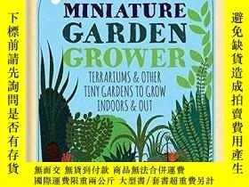 二手書博民逛書店RHS罕見Miniature Garden Grower: Te