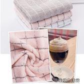 純棉洗臉毛巾全棉成人素色面巾 易樂購生活館
