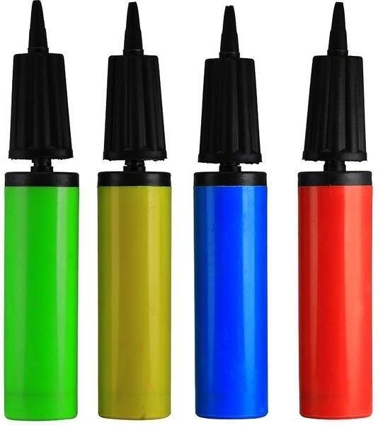 [衣林時尚] 萬用雙向打氣筒 可充氣球及泳圈 充氣床 28x4.5cm 顏色隨機出 非INTEX品牌