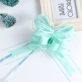 清新素色高端手拉花彩帶婚車拉花婚房禮品裝飾品娃娃包裝抽花拉花   初見居家
