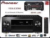 門市有現貨 - Pioneer VSX-LX504(B) 9.2聲道環繞擴大機 - 台灣先鋒公司貨