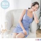 《VA487》迷漾誘惑蠶絲BraTop背心裙/睡衣 OrangeBear
