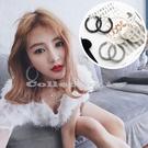 【超取399免運】韓國水晶個性耳圈 女長款氣質耳飾品 耳釘吊墜 潮人百搭耳墜 耳環