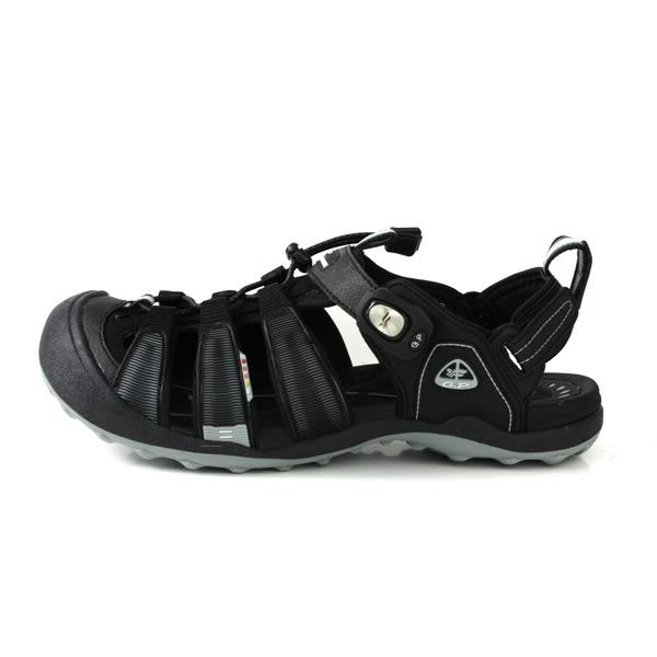 GP (Gold.Pigon) 阿亮代言 涼鞋 護趾 雨天 黑色 男鞋 G9224M-10 no001