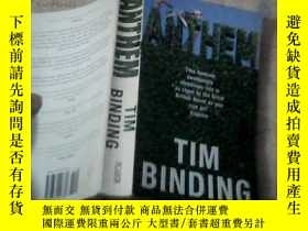 二手書博民逛書店tim罕見binding anthem(英文原版)11905 t