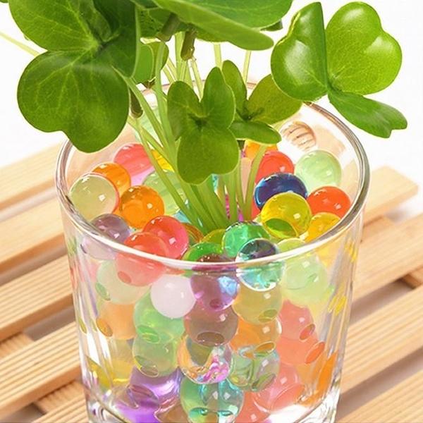 園藝水晶寶寶 水晶泥 水彈 水槍 海綿水晶珠 彩泥泡大珠 吸水珠 生長球 無土栽培用