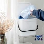 臟衣籃掛壁式收納桶浴室臟衣服收納筐塑料簍臟襪子【古怪舍】
