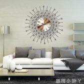 掛鐘現代簡約客廳牆壁裝飾創意壁飾餐廳牆面裝飾掛件家居用品牆飾掛飾 NMS蘿莉小腳ㄚ