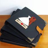 創意相冊diy手工影集粘貼式七夕情侶浪漫記錄本拍立得紀念冊禮物 易貨居