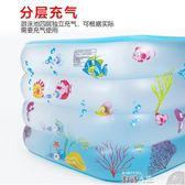 充氣游泳池幼嬰兒游泳池家用保溫新生兒0-12個月大號寶寶充氣小孩1-3歲室內  數碼人生igo