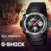 G-SHOCK AW-590-1A 強悍潮流雙顯錶 AW-590-1ADR 現貨!