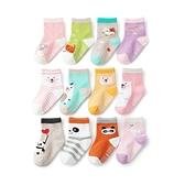 寶寶襪子12雙入 多花色卡通童襪組 88722