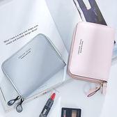 短夾 字母雙拉鏈皮夾卡包錢包短夾【WNB368-1】 icoca  12/01