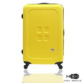 行李箱24吋 ABS材質 魔方鈕扣系列【Just Beetle】