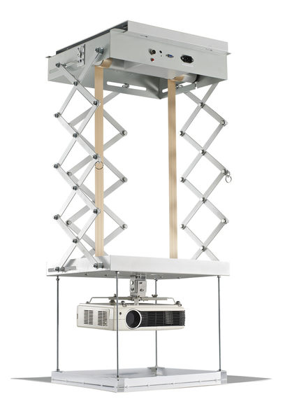 [卡瑪斯投影機銀幕] 投影機電動式投影機吊架2米 電動升降架