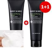 【韓國代購】Tony moly活力24 男士洗臉刮鬍2合1 (買一送一)
