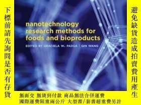 二手書博民逛書店Nanotechnology罕見Research Methods for Food and Bioproducts