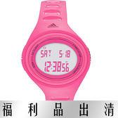 【台南 時代鐘錶 Adidas】愛迪達 ADP6130 多功能橢圓電子錶 37mm 粉紅 公司貨 開發票有保障
