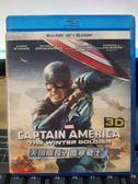 影音專賣店-Q00-537-正版BD【美國隊長2 酷寒戰士 3D+2D】-藍光電影