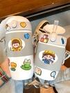 兒童保溫杯帶吸管喝水杯子寶寶幼兒園小孩防摔外出可愛飲水壺水瓶一米