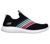 SKECHERS ULTRA FLEX [13112BKMT] 女鞋 運動 休閒 健走 踏青 懶人 透氣 舒適 黑彩