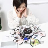 爆炸盒子diy手工抖音同款熱門驚喜生日禮物創意情侶照片定制禮物  ATF 『魔法鞋櫃』
