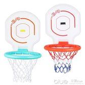 宏登可折疊便攜式大藍球架青少年兒童籃球框投籃架可升降戶外玩具 深藏blue YYJ