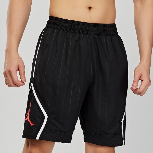 Nike AS M J JM DIAMOND STRIPED SHO 男子 黑色 喬丹 運動 短褲 CD4909-010