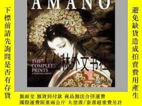 二手書博民逛書店【罕見】2003年 Amano: The Complete Pr