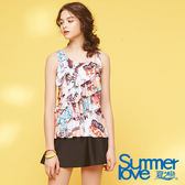 【Summer Love 夏之戀】浪漫風兩件式泳衣(S18725)
