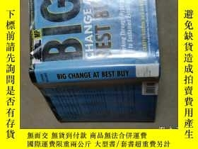 二手書博民逛書店Big罕見Change at Best Buy:Working
