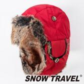 【SNOW TRAVEL】極地保暖遮耳帽『紅』AR-55 旅遊│賞雪│透氣│防風│保暖帽│遮耳帽│蒙古帽