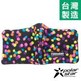PolarStar 保暖口罩 台灣製造 『彩色點點』輕量│保暖│透氣│刷毛│騎車 P14607