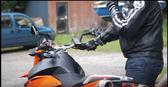 iphone6 plus gps導航車架防水套重機導航座底座防水盒自行車手機架防水包腳踏車手機座防水殼支架