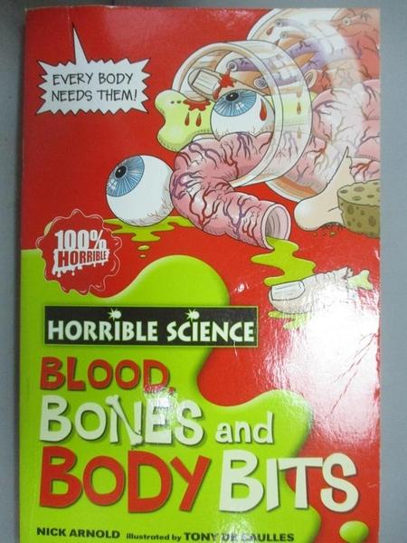 【書寶二手書T7/科學_GAW】Horrible Science Blood, Bones and Body Bits可