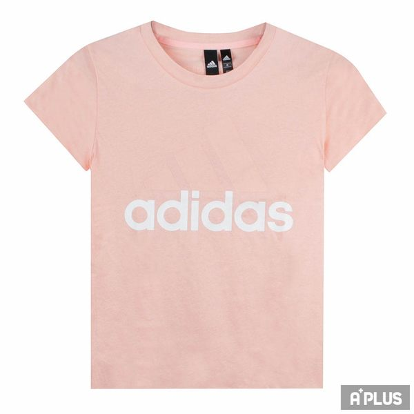 Adidas 女 ESS LI SLI TEE 愛迪達 圓領T(短)- CZ5770
