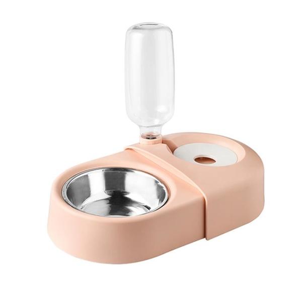 貓碗狗盆雙碗自動飲水防打翻貓咪食盆幼貓水碗狗狗碗