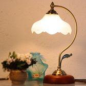 歐式創意時尚檯燈臥室床頭燈可調暖光喂奶裝飾檯燈溫馨結婚慶檯燈 盯目家