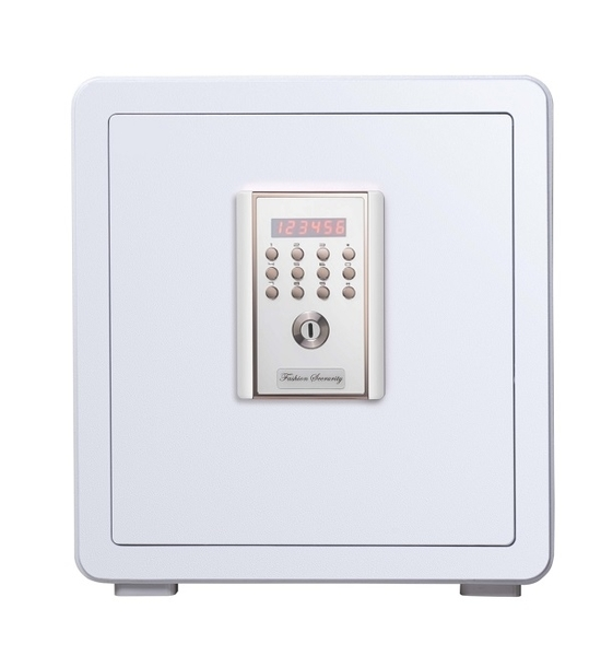 聚富 吉祥時尚系列密碼保險箱(45MWC)白