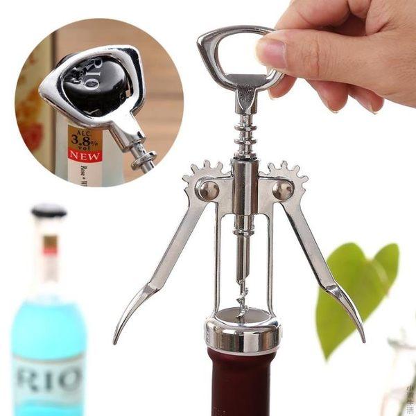 多功能鋅合金紅酒開瓶器創意啤酒葡萄酒啟瓶器酒具省力開酒器起子JRM-1729