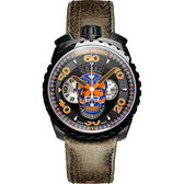 BOMBERG 炸彈錶 BOLT-68 藍骷顱限量計時手錶-咖啡/45mm BS45CHPBA.051.3