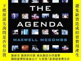 二手書博民逛書店Setting罕見The Agenda: Mass Media And Public Opinion-制定議程:大